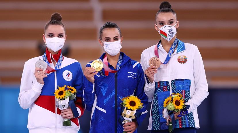 Японские болельщики возмутились судейством на олимпийских соревнованиях по художественной гимнастике