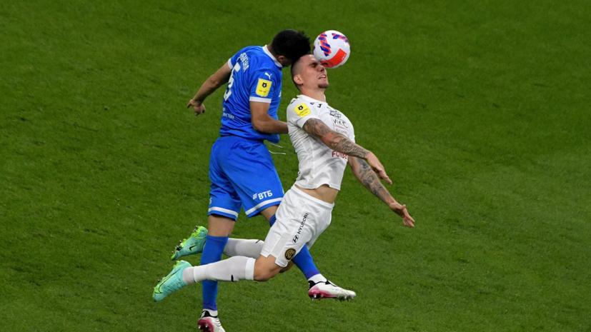 Футболист ЦСКА Заболотный получил травму в матче с «Динамо»