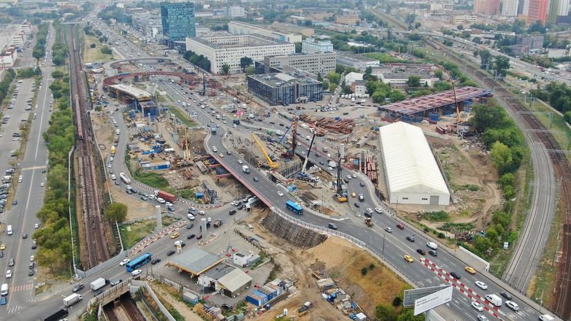 Собянин рассказал о строительстве хордовых магистралей в Москве