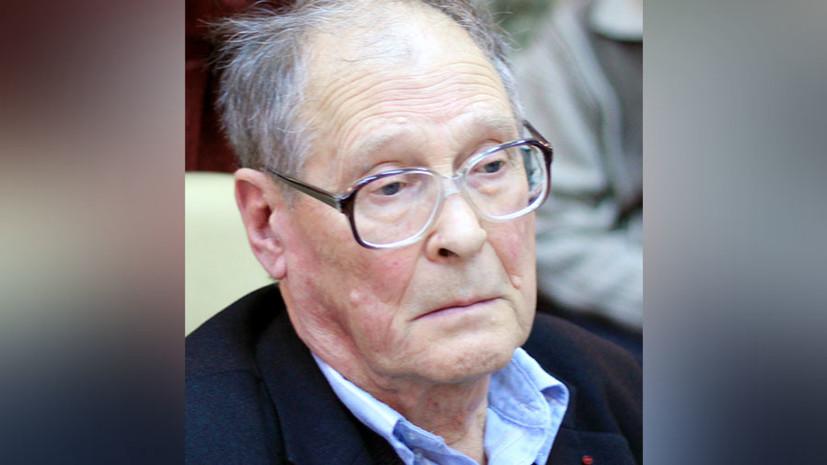 Умер учёный-биолог и советский диссидент Сергей Ковалёв