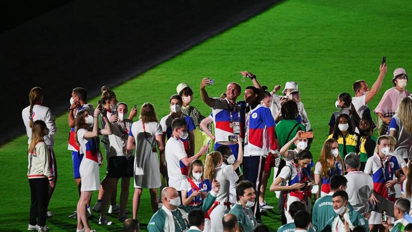 Рейс с российскими олимпийцами вылетел из Токио в Москву
