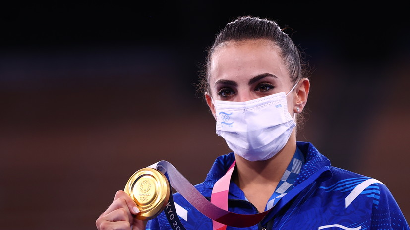 Украинская судья объяснила, почему израильская гимнастка Ашрам победила на Олимпиаде