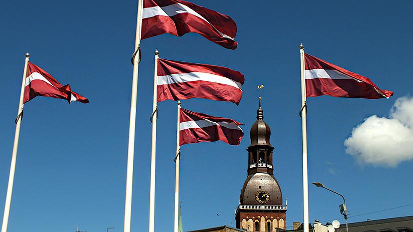 Латвия ввела режим ЧС на границе с Белоруссией