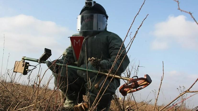 Сапёры обезвредили снаряд, найденный в Тобольском районе Тюменской области