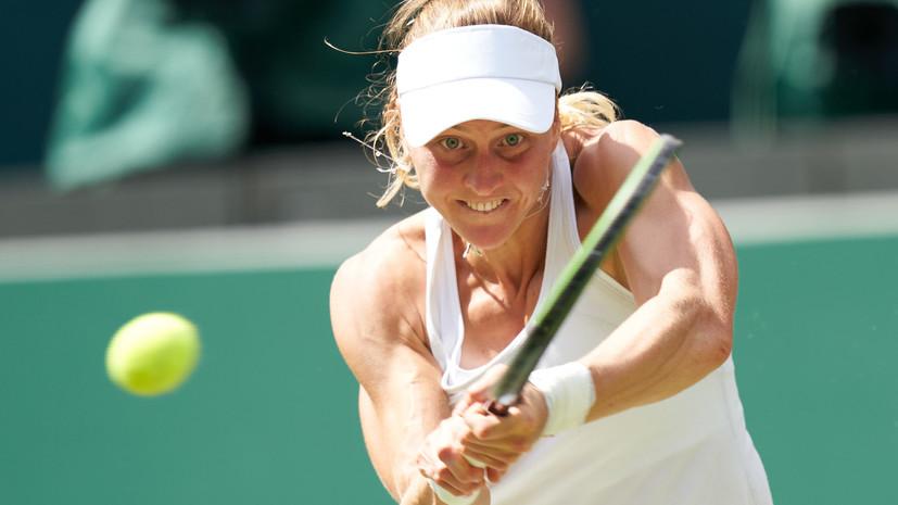 Самсонова обыграла Рыбакину и вышла во второй круг турнира WTA в Монреале