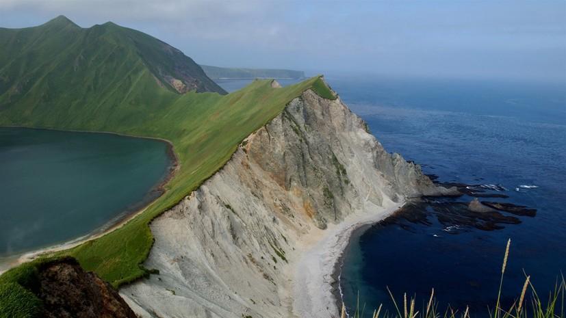 Землетрясение магнитудой 5,0 произошло рядом с Курильскими островами