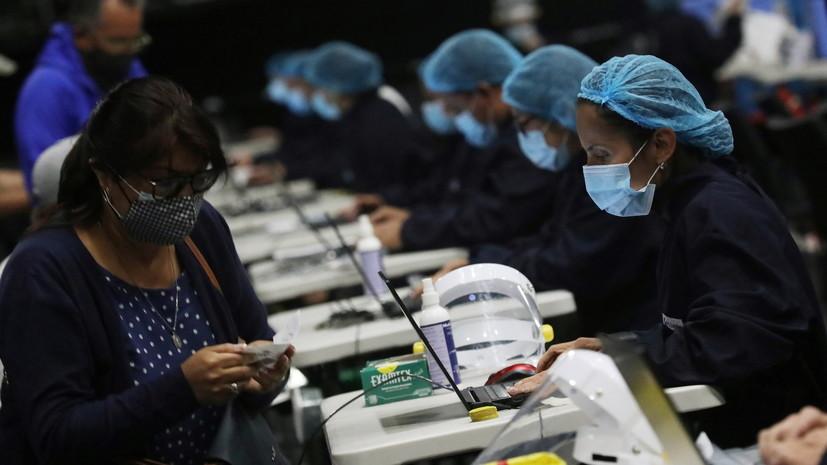 В Колумбии за сутки выявили почти четыре тысячи случаев коронавируса