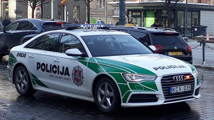 В Литве задержали 26 человек из-за беспорядков возле здания парламента