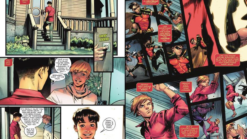 Рисованный каминг-аут: Робина из комиксов о Бэтмене сделали бисексуальным