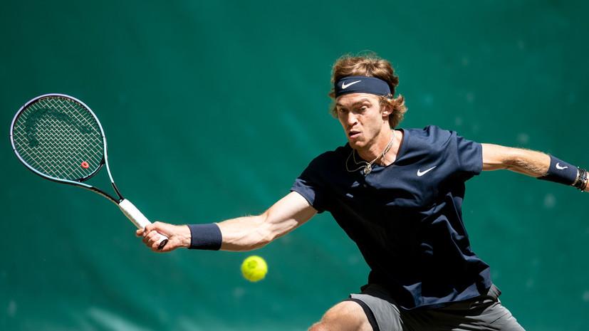 Рублёв обыграл Фоньини и вышел в третий круг теннисного «Мастерса» в Торонто