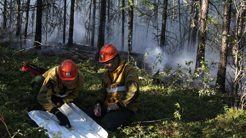 В Якутии ограничили электроснабжение пяти районов в связи с пожарами