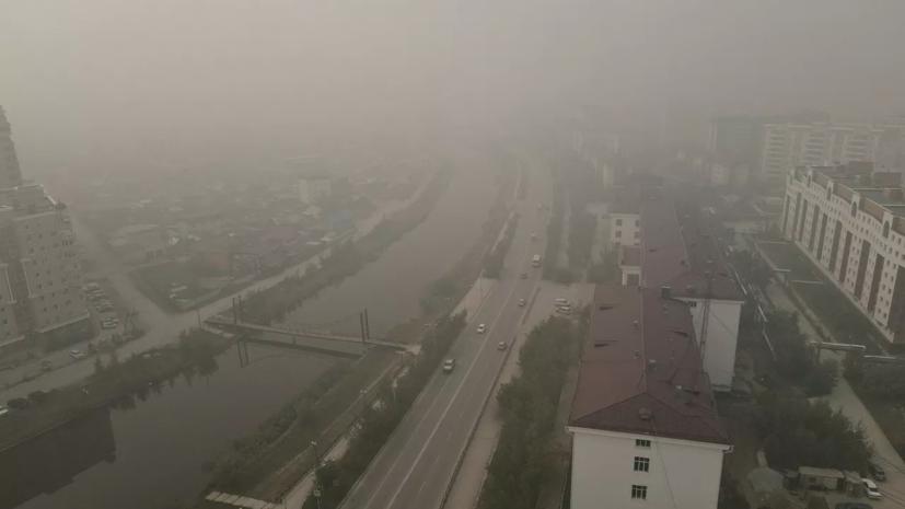 На борьбу с лесными пожарами в Якутии направят ещё два вертолёта МЧС