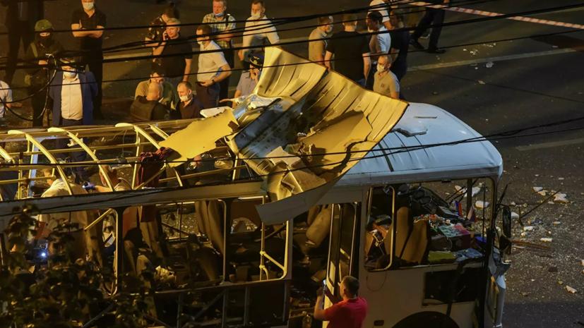 В Минздраве рассказали о состоянии пострадавших при взрыве в автобусе в Воронеже