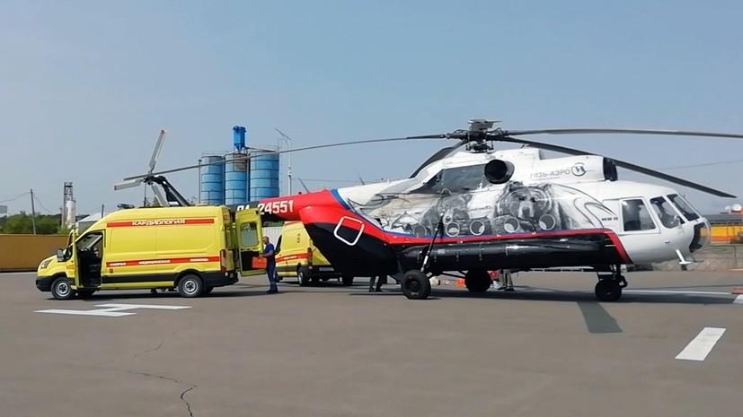 «Отломана хвостовая часть, корпус целый»: в озере Курильском на Камчатке нашли потерпевший крушение вертолёт