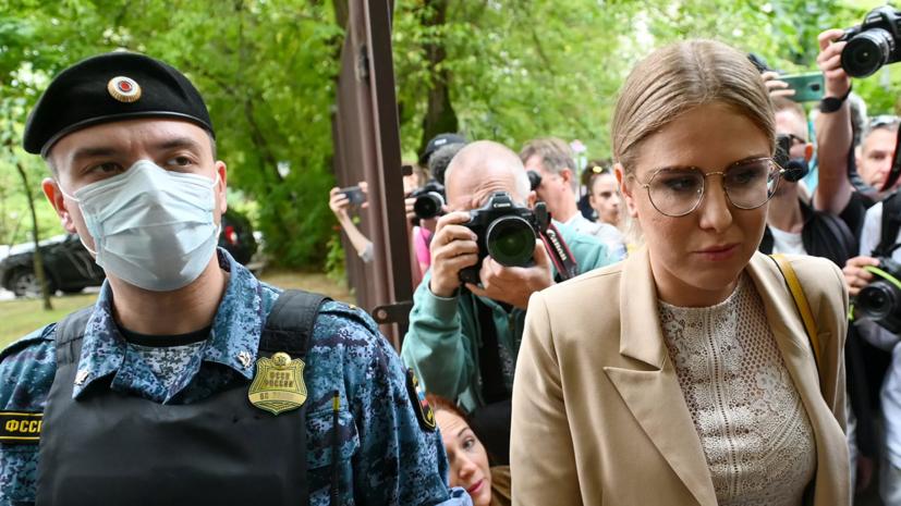 Прокуратура обжаловала приговор Соболь