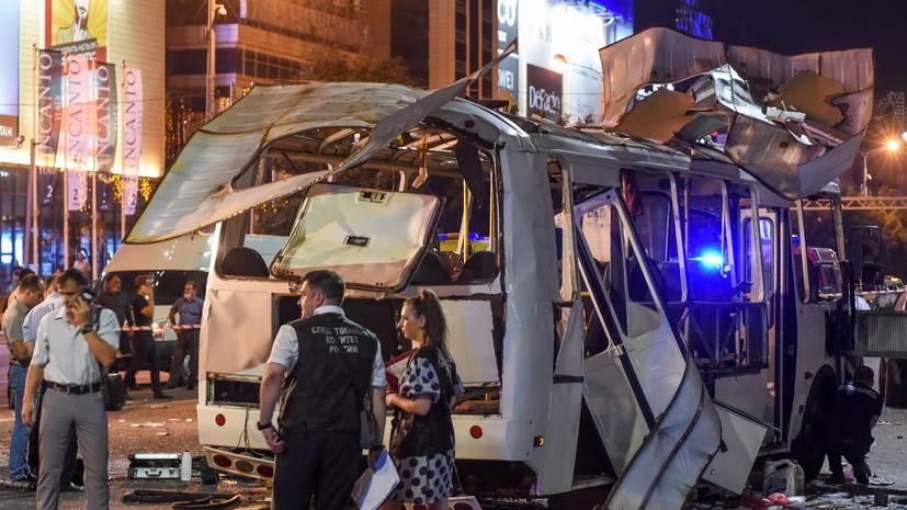 В Воронежской области заявили об увеличении числа пострадавших при взрыве в автобусе