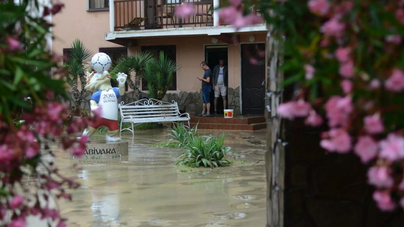 Власти Сочи организовали непрерывный контроль уровня воды в реках города