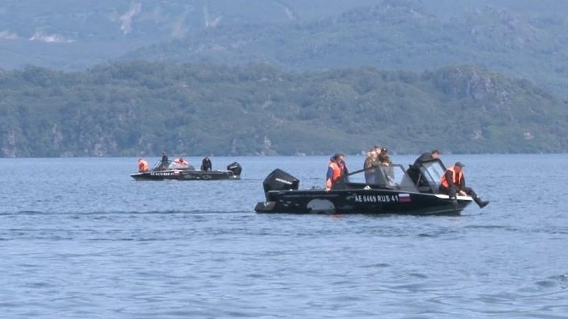 На Камчатке обнаружены несколько тел погибших туристов с упавшего Ми-8