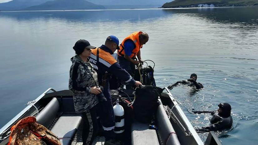 Тела троих погибших при крушении Ми-8 на Камчатке доставили на берег