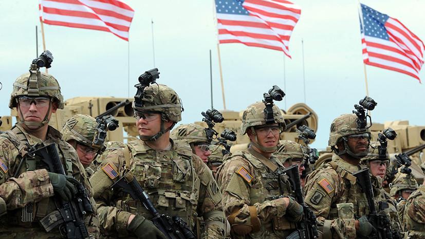 SANA: военные США провели операцию в провинции Дейр эз-Зор