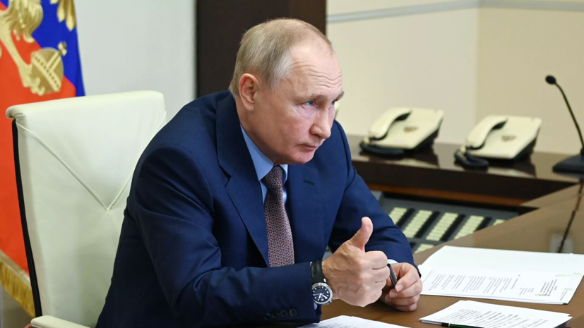 Путин заявил о беспрецедентном характере природных бедствий в ряде регионов