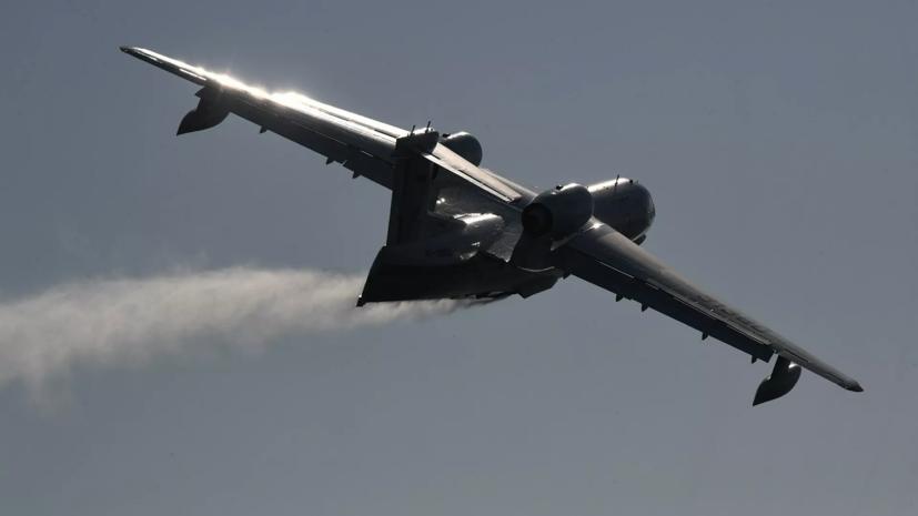 В Турции разбился самолёт Бе-200 Минобороны России с пятью российскими военными