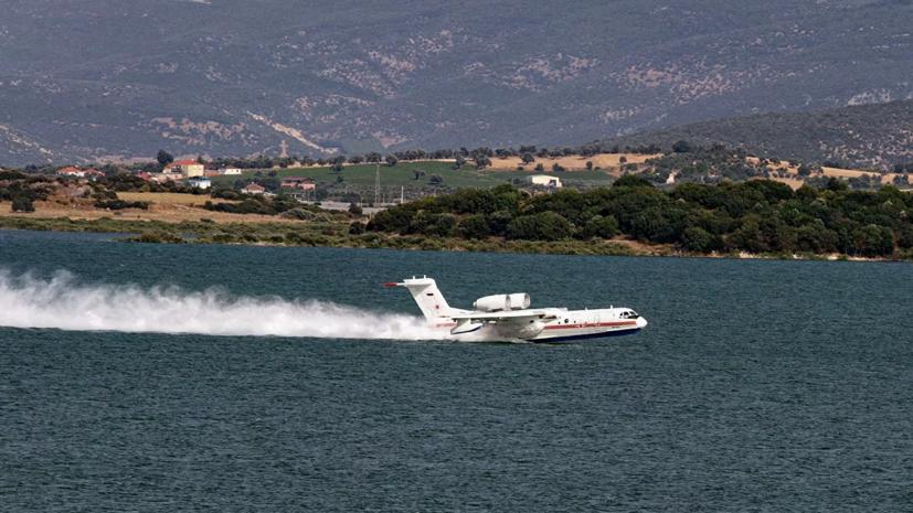 Представитель Эрдогана выразил соболезнования в связи с крушением Бе-200
