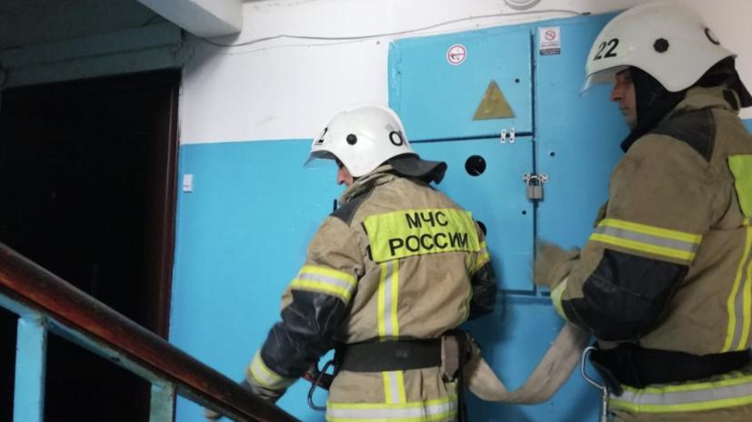 В жилом доме в Симферополе произошёл хлопок газа