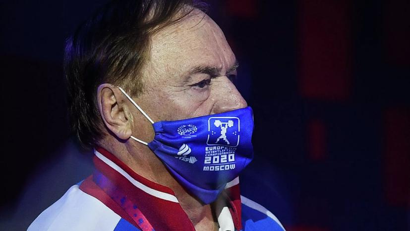 Главный тренер мужской сборной России по тяжёлой атлетике подал в отставку после Олимпиады