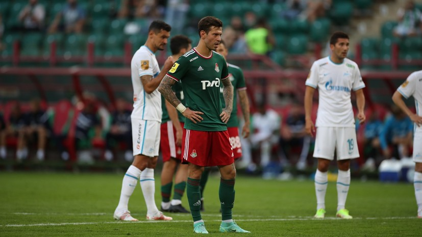 В «Локомотиве» ответили на слухи о травме Смолова в матче с«Зенитом»