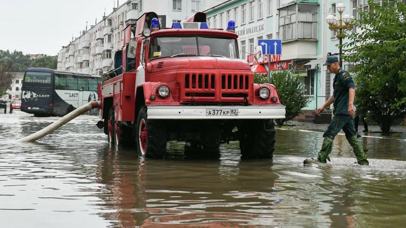 Власти Керчи сообщили о ситуации с подтоплениями в городе