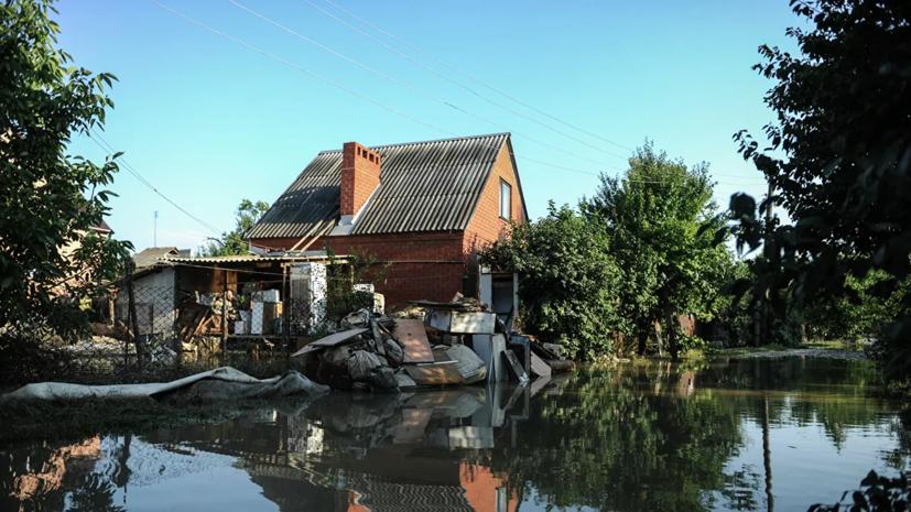 Более 750 домов остаются подтопленными в Краснодарском крае из-за непогоды