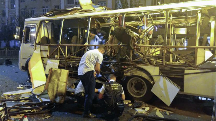 Губернатор рассказал о состоянии пострадавших при взрыве в автобусе в Воронеже