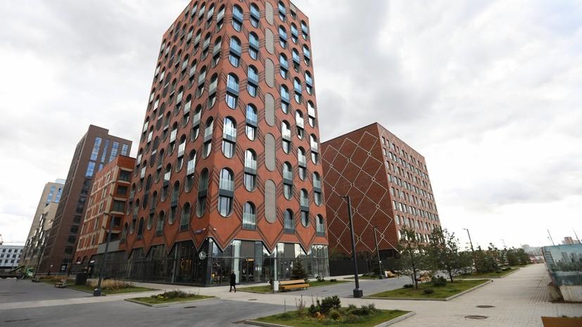 Число апартаментов в продаже в Москве снизилось на 46% за год