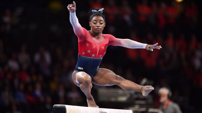 Американскую гимнастку Байлз раскритиковали за употребление текилы