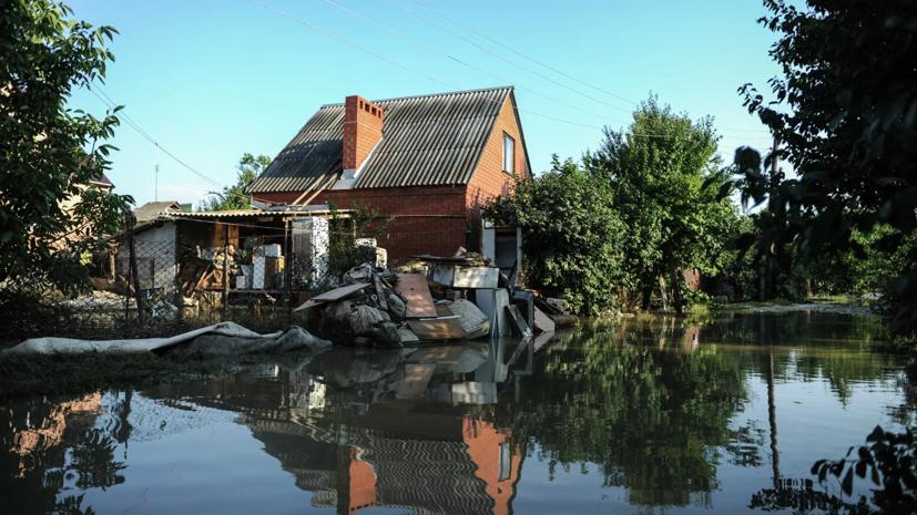 Власти Краснодарского края рассказали о порядке получения компенсаций для пострадавших от наводнения