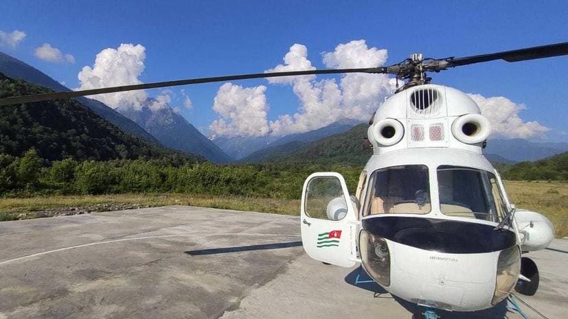 В Абхазии спасли двух российских туристов
