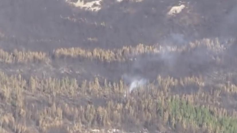 Авиация ЦВО приступила к тушению природных пожаров в Иркутской области