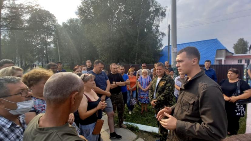 Врио губернатора Хабаровского края рассказал о паводковой ситуации в регионе