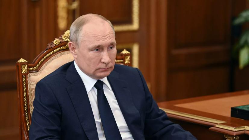 Путин провёл рабочую встречу с врио главы Мордовии