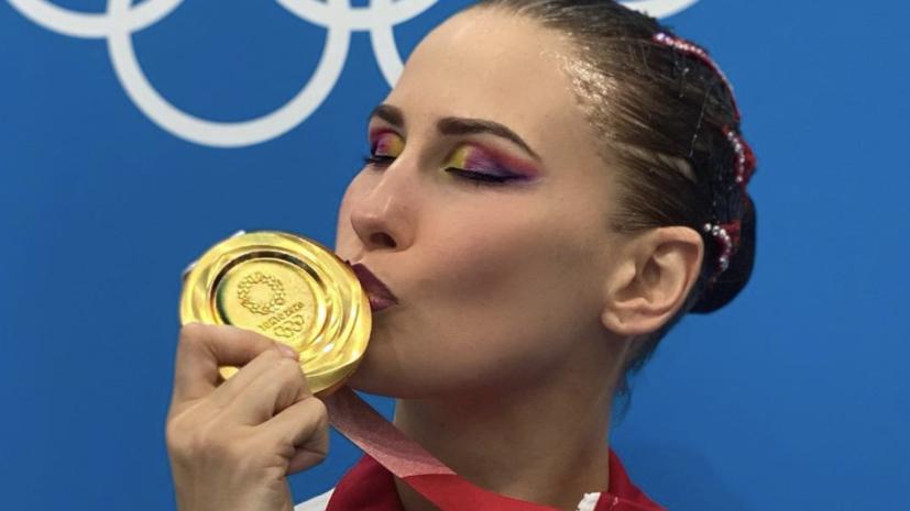 Шишкина ответила на вопрос о нетрадиционных сексуальных отношениях в синхронном плавании