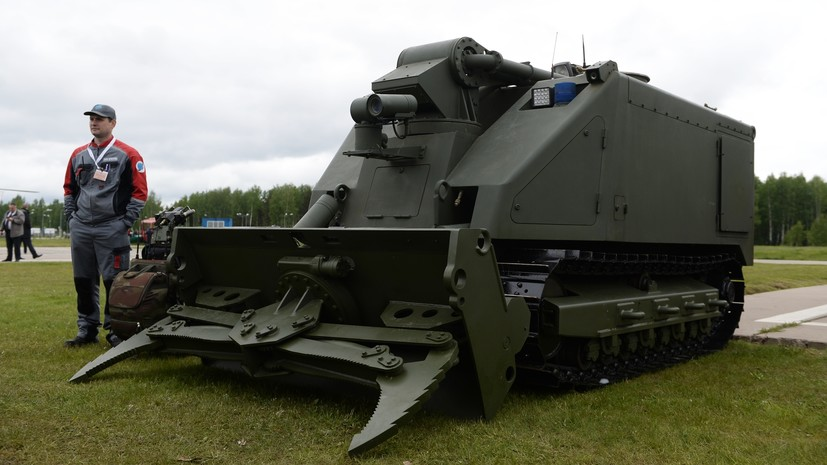 «Системы искусственного интеллекта»: какие боевые роботы разрабатываются в России