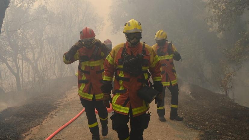 Во Франции из-за лесных пожаров пострадали 27 человек