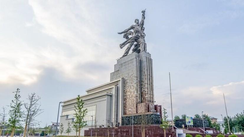 Смотровая площадка на крыше павильона «Рабочий и колхозница» откроется 19 августа