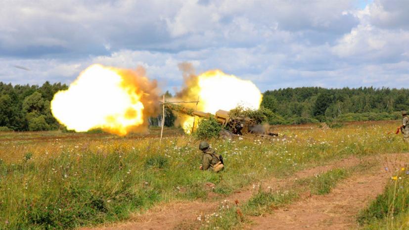 Артиллеристы Балтфлота провели учения с использованием беспилотников