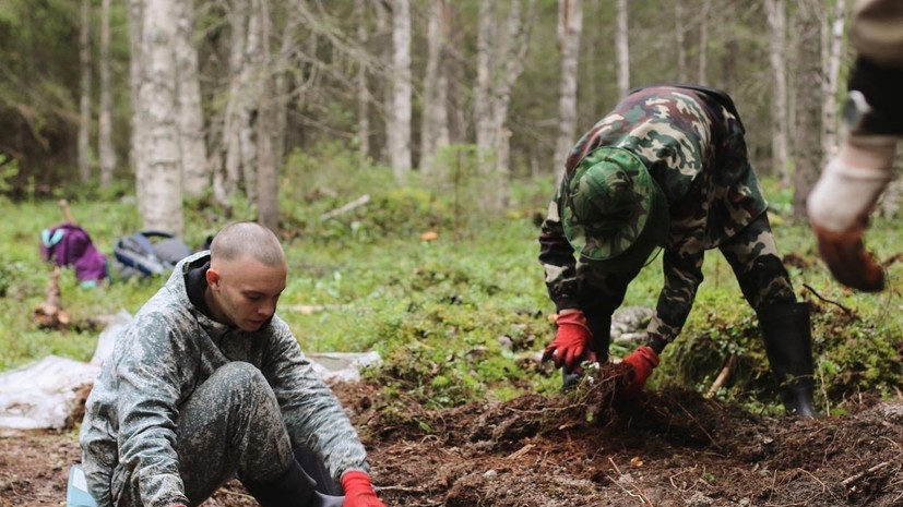 Тюменские поисковики принимают участие в экспедиции «Горящие камни» в Карелии