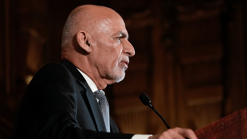 Гани заявил, что не вывозил из Афганистана деньги