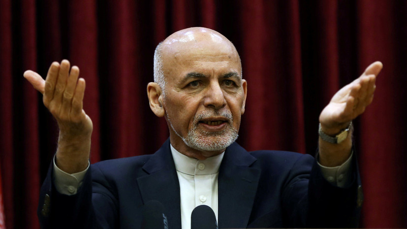 Ашраф Гани пообещал вернуться в Афганистан в ближайшее время
