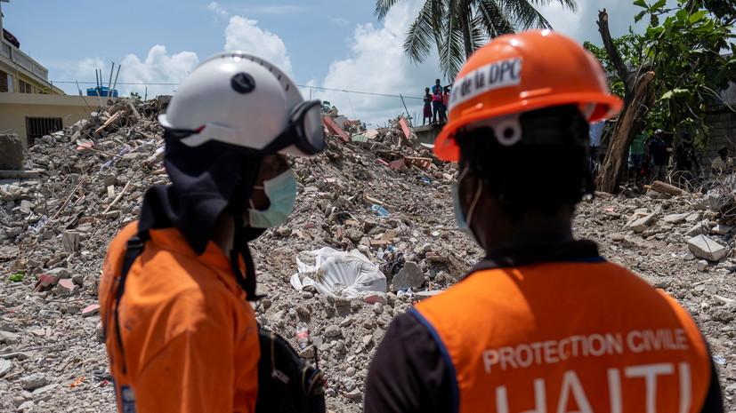 Число жертв землетрясения в Гаити достигло 2189