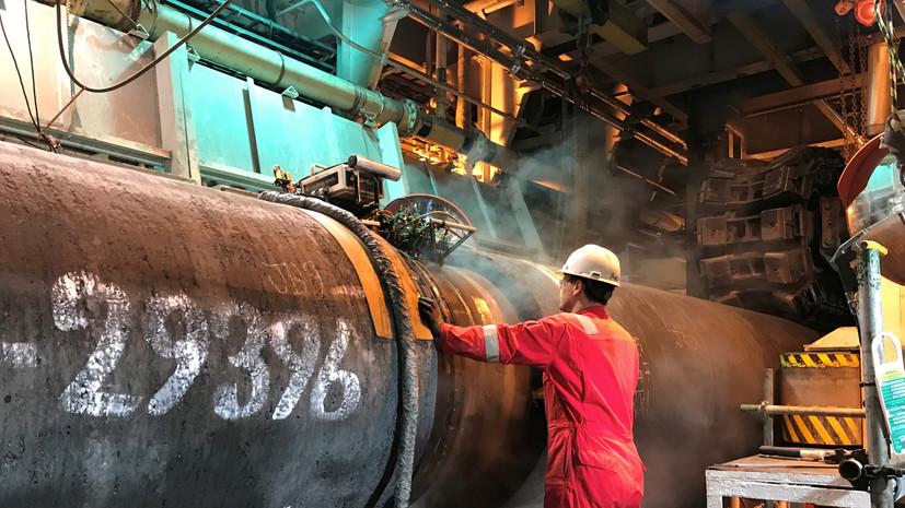 В Nord Stream 2 прокомментировали сроки строительства «Северного потока — 2»